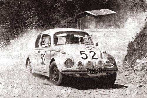 A Porsche Salzburgban készült VW 1302 raliautó