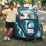 Én és az első Bogaram talán 1992-ben