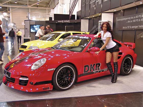 DKR Tuning Porsche átirat