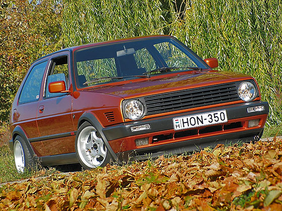 Kettes Golf VR6 motorral