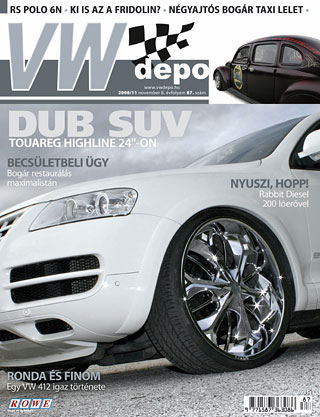 VW depo 2008/11