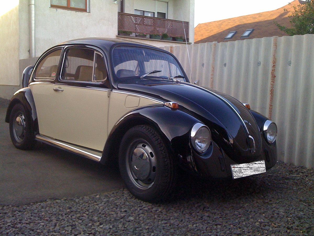 VW 1300 betétes fényezéssel