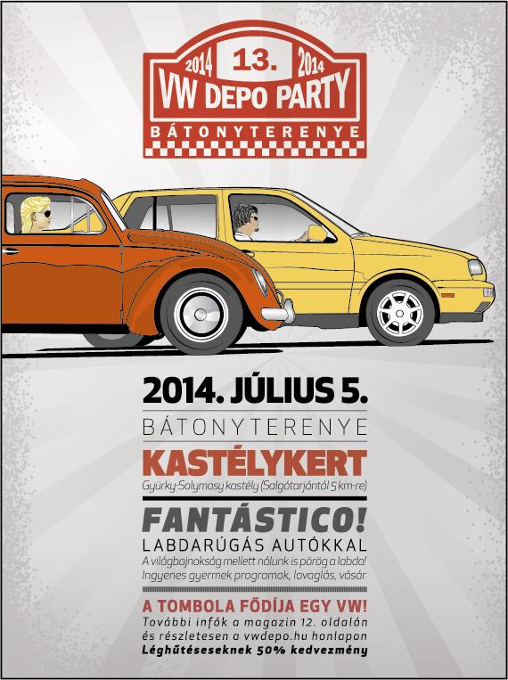 VW depo Party a Gyürky-Solymossy kasélyban