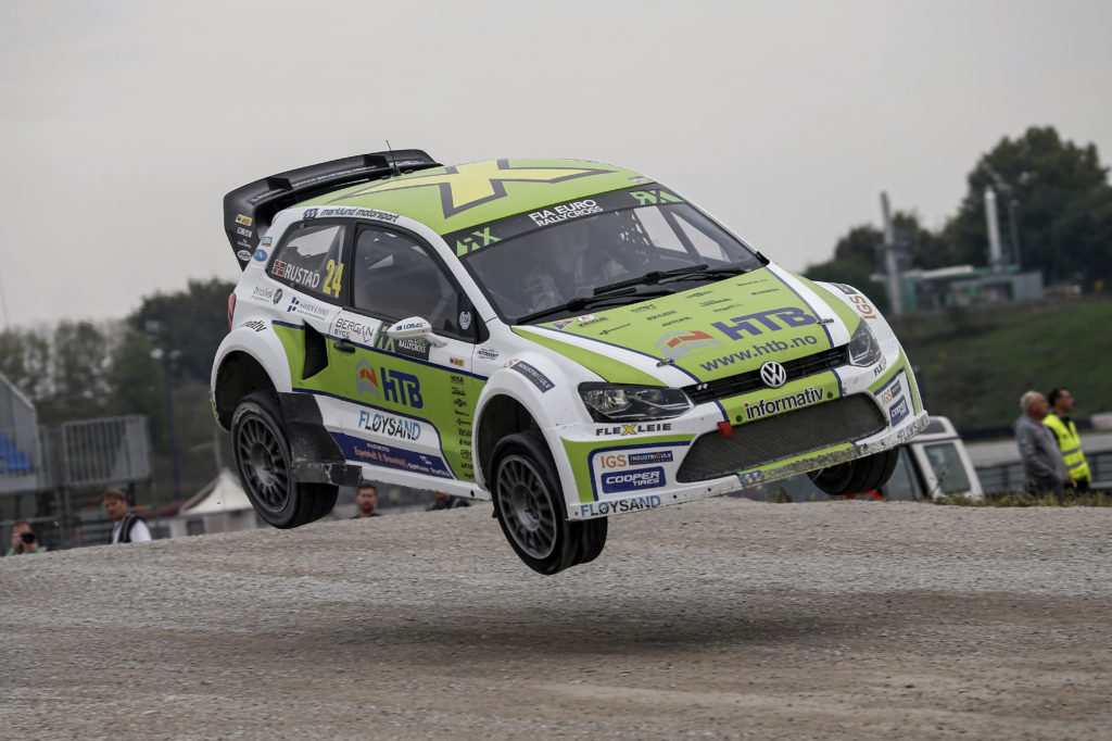 Tommy Rustad (NOR) Volkswagen Polo RX Supercar FIA World Rallycross-Championchip Italy 2015