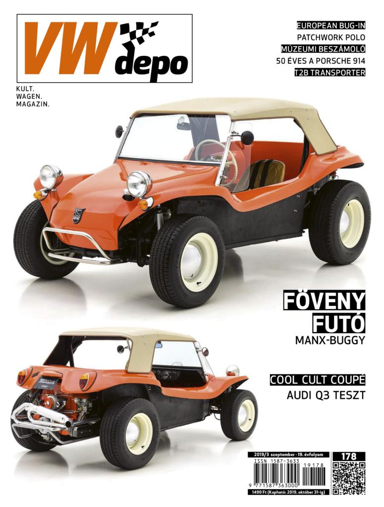 Cover of the magazin, az újság borítóképe